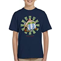 Cloud City 7 Asterix and Obelix Retro Japanese Kid's T-Shirt