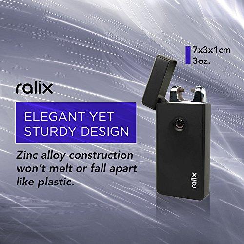 Ralix Electronic Lighter | Single Arc Flameless Plasma Lighter