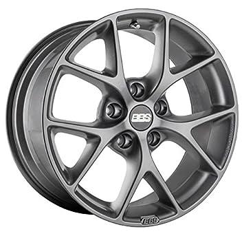 Amazon Com Bbs Sr Wheel Satin Grey 5x120 Bolt Pattern 19x8 5