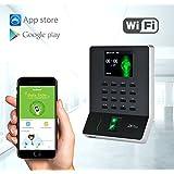 ZKTeco Ultra Slim Biometric Fingerprint Time Attendance Terminal/Attendance Machine Payroll Recorder Employee Checking-in Recorder