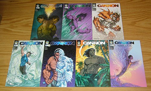 Michael Turner's Fathom: Cannon Hawke #0 + 1-5 VF/NM complete series (A variants) + prelude ; Aspen