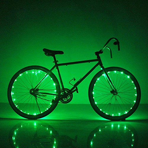20 waterproof bike wheel lights