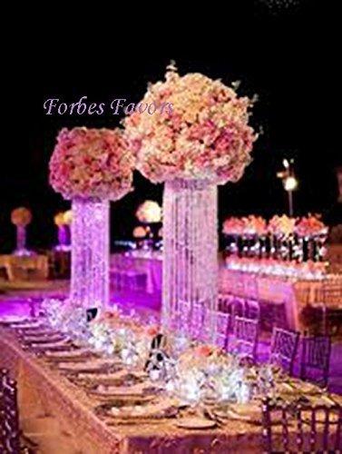 Amazon 20 glamorous column enchanted chandelier with battery 20quot glamorous column enchanted chandelier with battery led lights centerpiece wedding birthday annivesary aloadofball Choice Image
