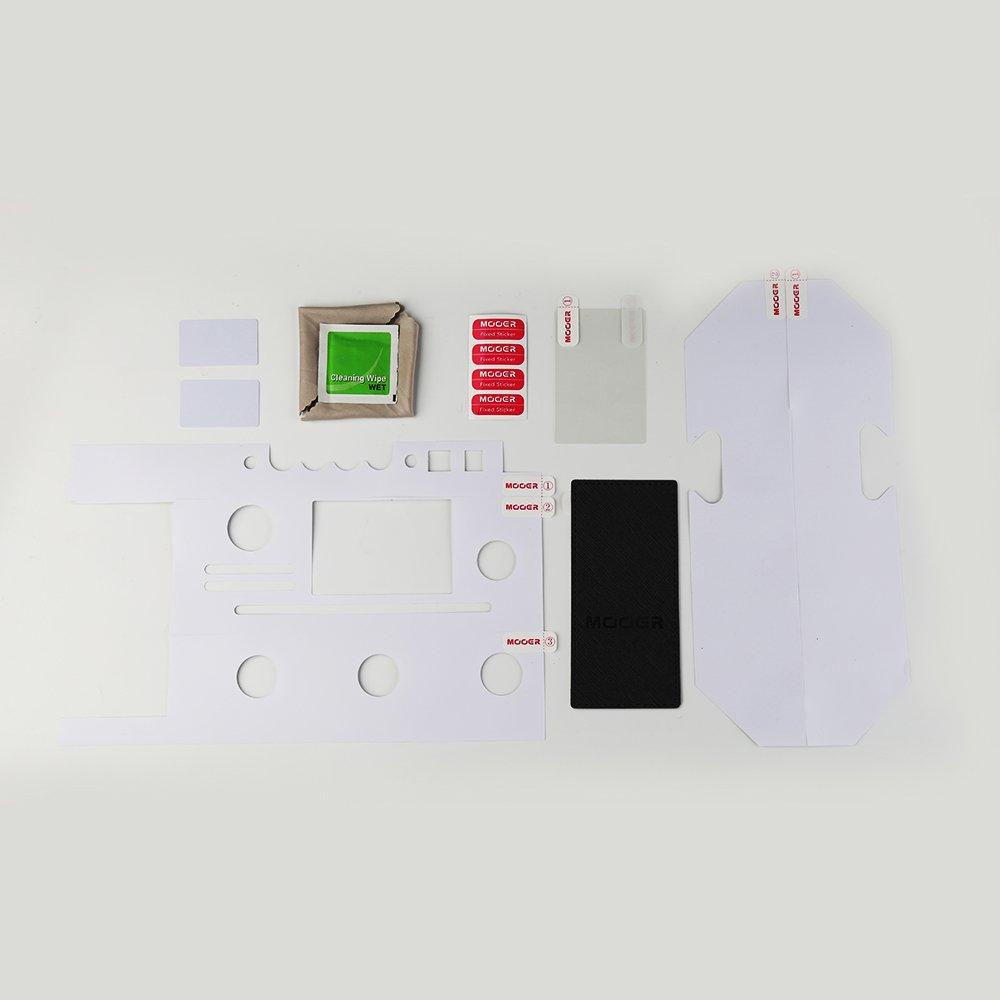 MOOER GE200 Multi Effects Kit (AK200 Pedal Protector)