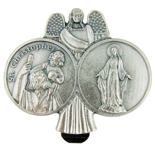 religious-gift-travel-protection-1-7-8-h-pewter-guardian-angel-st-saint-christopher-our-lady-of-grac