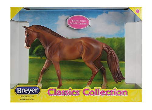 Breyer Classics Chestnut Quarter Horse Toy ()