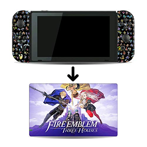 Fire Emblem Three Houses Game Skin for Nintendo Switch Console and Dock