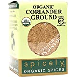 Spicely Organic Coriander Ground - Compact