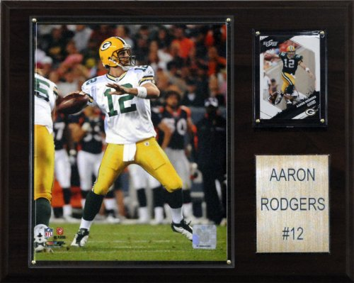 NFL Aaron Rodgers Green Bay Packers Player Plaque
