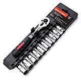 "MAXPOWER 11-Piece 1/4"" Ratcheting Socket Wrench Set"