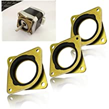 (3 Pack) Shock Absorber Stepper Vibration Damper Motor Spacer For Nema17 3D Printer