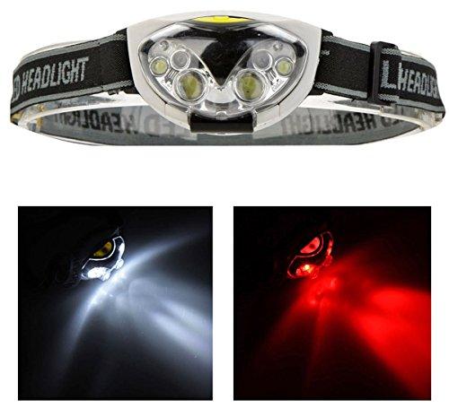 Superhelle LED Stirnlampe mit 1200 Lumen - LED Kopflampe - 6 LED - 3 Helligkeiten wählen - LED Stirnlampen, LED Kopflampen, Kopfleuchte Sofortversand aus Deutschland von ETU24