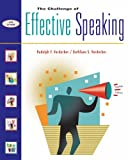 The Challenge of Effective Speaking W/Cd-Rom, Verderber, 0534590322