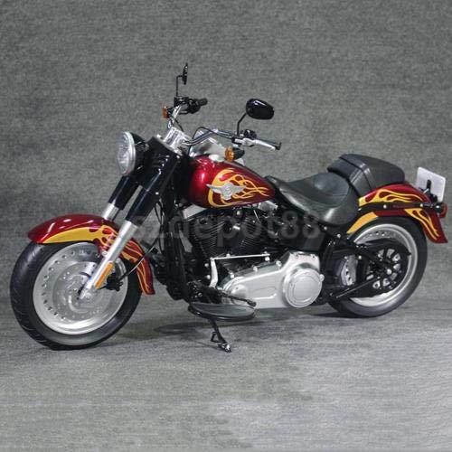 Man 12' Collectible Figure - FidgetKute 1/6 Scale Motorcycle for 12'' Arnold Schwarzenegger Terminator 2 Figure Vehicles Flame