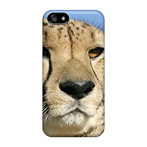 (eSTsCQA8763pTXXQ)durable Protection Case For Iphone 6 4.7 Inch Cover (blue Sky Cheetah)