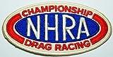 NHRA Drag Car Hot Rod Championship Racing on Patch 8.5x4.5 Cm