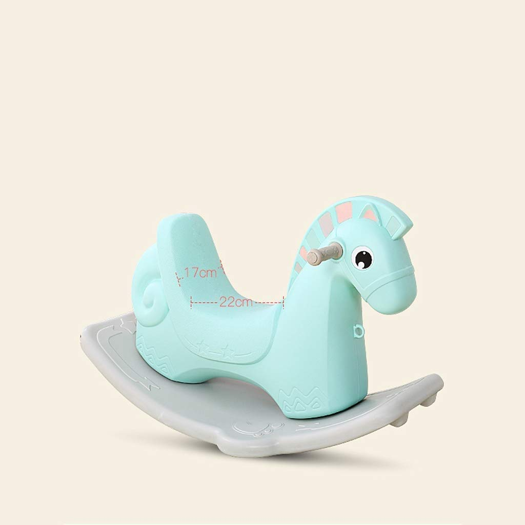 Kylinmmn Kids Environmentally Friendly PP Material Rocking Horse Rocker Horse Toy Child Rocking Horse for Children's Day Birthday Gift (Color : B) by Kylinmmn (Image #6)