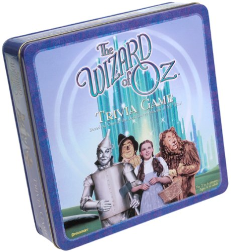 The Wizard of Oz Trivia Game; in Collector's Tin (Tin Quick Pick Game)