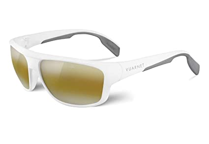 f3f4edcb13 Amazon.com  Vuarnet Vl 1402 0008 7184 Sport Sunglasses White Frame ...