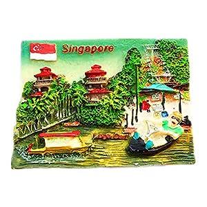 Hqiyaols Souvenir Sentosa Skyline Slope Block Singapur 3D ...