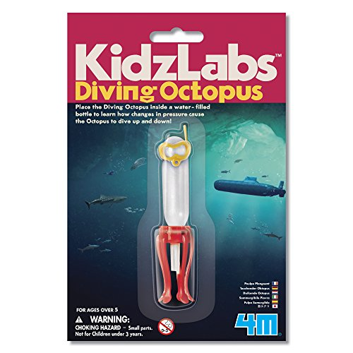 4M KidzLabs Diving Octopus Science Kit (Diver Floating)