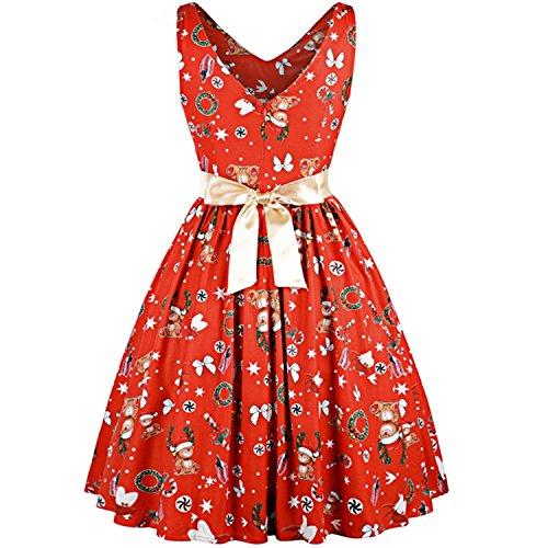90s floral dress - 4