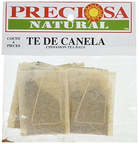 PRECIOSA H Canella Tea Bag, 6 Count (Pack of 12) -
