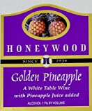 NV Honeywood Winery Golden Pineapple Fruit Wine 750 mL