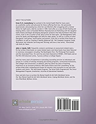Emotional Well-Being Workbook - Facilitator Reproducible Sessions ...