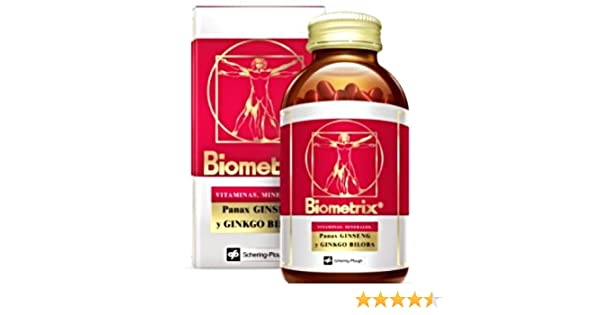 Amazon.com: Biometrix Multivitamin and Mineral Natural Supplement With Ginseng And Gingkgo Biloba 100 Capsules: Health & Personal Care