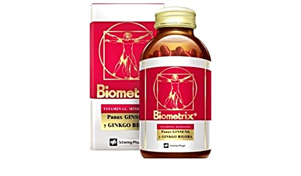 Amazon.com: Biometrix Multivitamin and Mineral Natural Supplement With Ginseng And Ginkgo Biloba 100 Capsules Plus Bonus 30 Capsule Bottle: Health ...