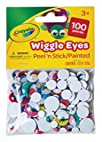 Best Crayola Educational Toys For 4 Year Olds - Crayola Wiggle Eyes, Painted, 100-Count Review
