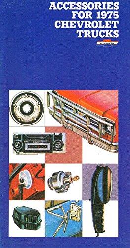 1975 CHEVROLET TRUCK & PICKUP ACCESSORIES AND FEATURES SALES BROCHURE - Also Medium Duty, Blazer, El Camino, Suburban, Carryall, Vans, Tilt Cab and Camper Text fb2 ebook