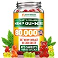 Premium Hemp Gummies 80 000 Total Safe And Natural Made In Usa Relaxing Stress Anxiety Relief Special Blend Rich In Vitamins B E Omega 3 6 9 More