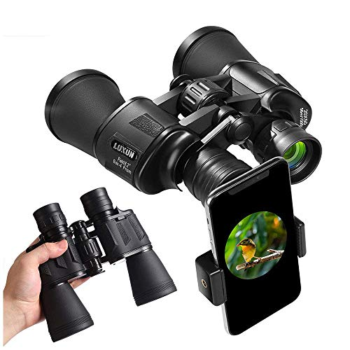 🥇 20×50 Binoculars for Adults,High Power HD With Weak Light Night Vision Waterproof Binoculars for Bird Watching Travel Hunting Football Concerts