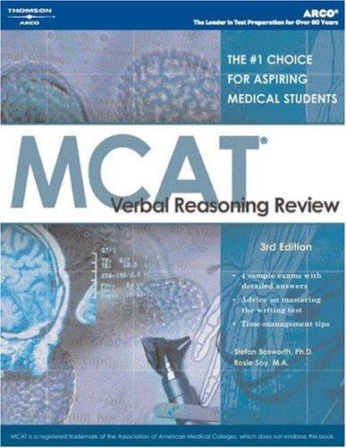 MCAT Verbal Reasoning Review, 5th ed (Arco MCAT Verbal Reasoning Review)