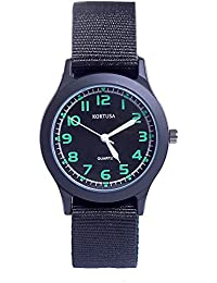 School Kids Army Military Wrist Watch Time Teacher...