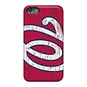 Customcases88 Apple Iphone 6s Plus Protector Hard Phone Covers Customized High-definition Washington Nationals Image [VMQ1916oNTk]