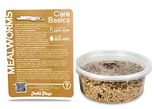 (Josh's Frogs Mealworms (500 Count))