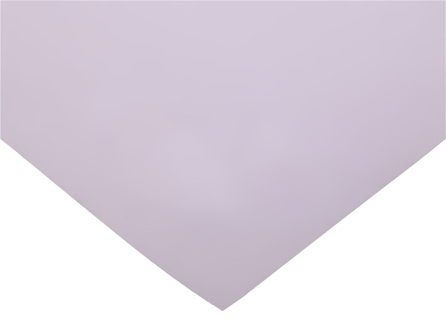 Polyester Shim Stock, Flat Sheet, Purple, 0.0015'' Thickness, 10'' Width, 20'' Length (Pack of 5) by Small Parts