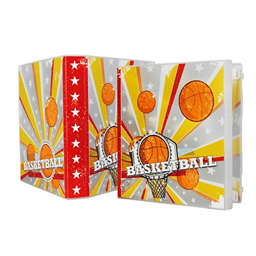Basketball Card Collection Kit Comes Complete Acid Free Plastic Pages to Hold Up to 180 Cards