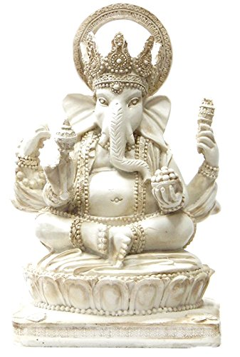 Bellaa 22227 Ganesh Statues Hindu Elephant God of Success 6
