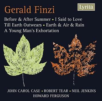 Finzi Song Cycles Amazoncouk Music