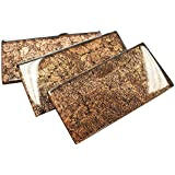 3x6 Glossy Brown Deco Subway Glass Mosaic Tiles for Bathroom and Kitchen Walls Kitchen Backsplashes By Vogue Tile