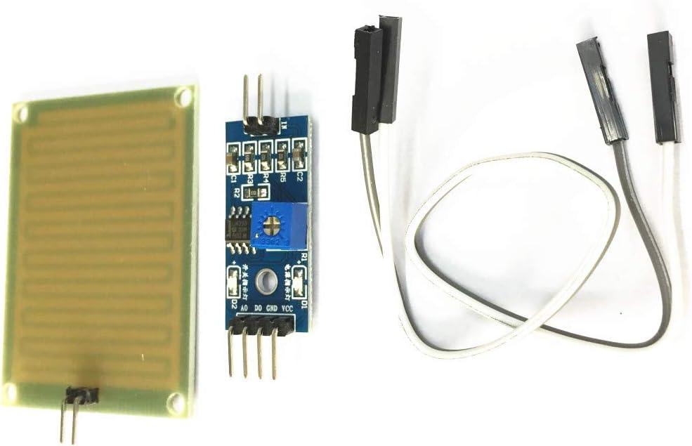 Generic Regensensor Feuchtigkeitssensor Modul Regen Erkennung Modul 3 3v 5v Für Arduino Baumarkt