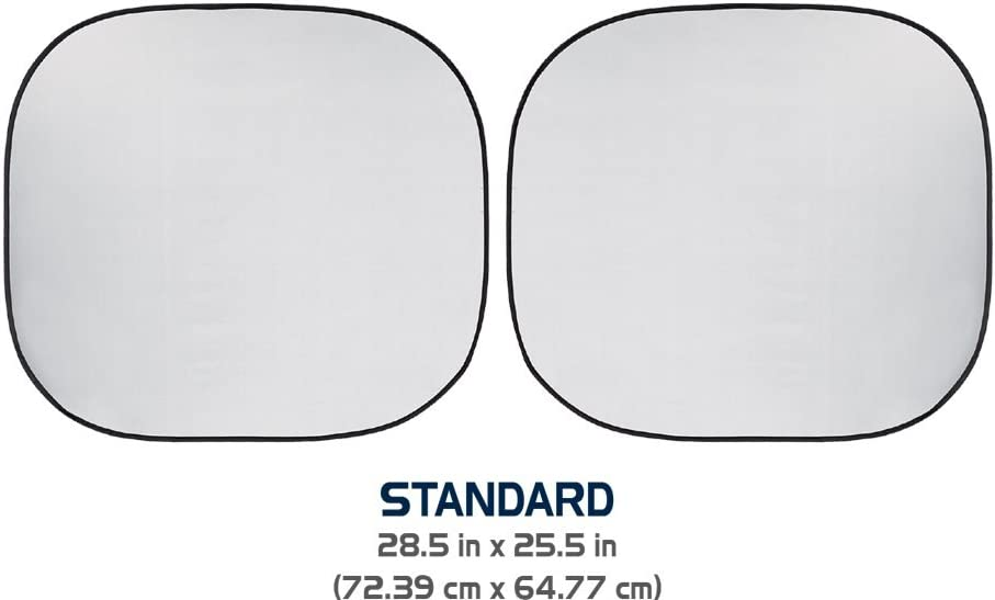 Auto Expressions 804242 Sun Protection Collapsible Sun Shade Vintage Surf Standard Size