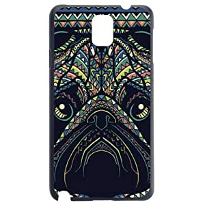 Fashion Personality Vintage Pattern Aztec Animal Dog Hard Back Plastic Case Cover Skin Protector For Samsung Galaxy Note3 by Alexism