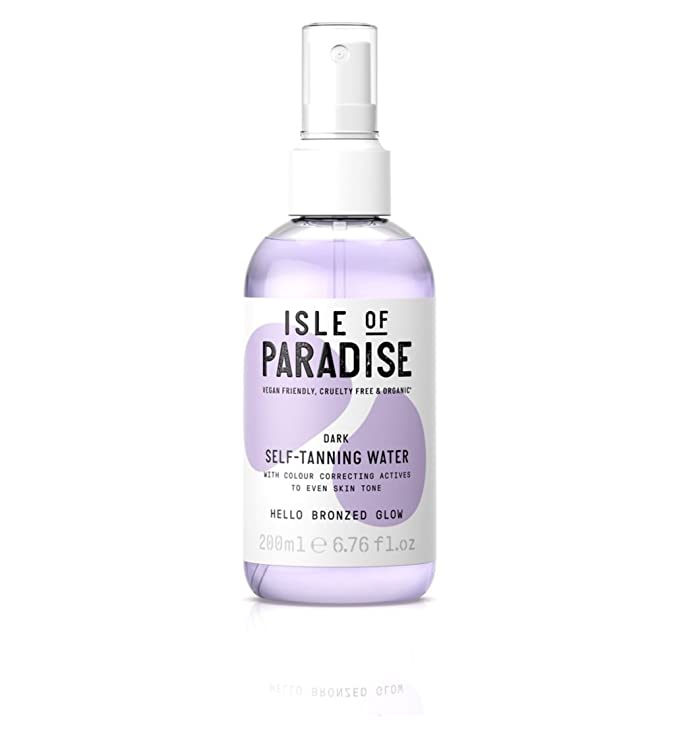Isle of Paradise - Agua de auto bronceado (200 ml), color ...