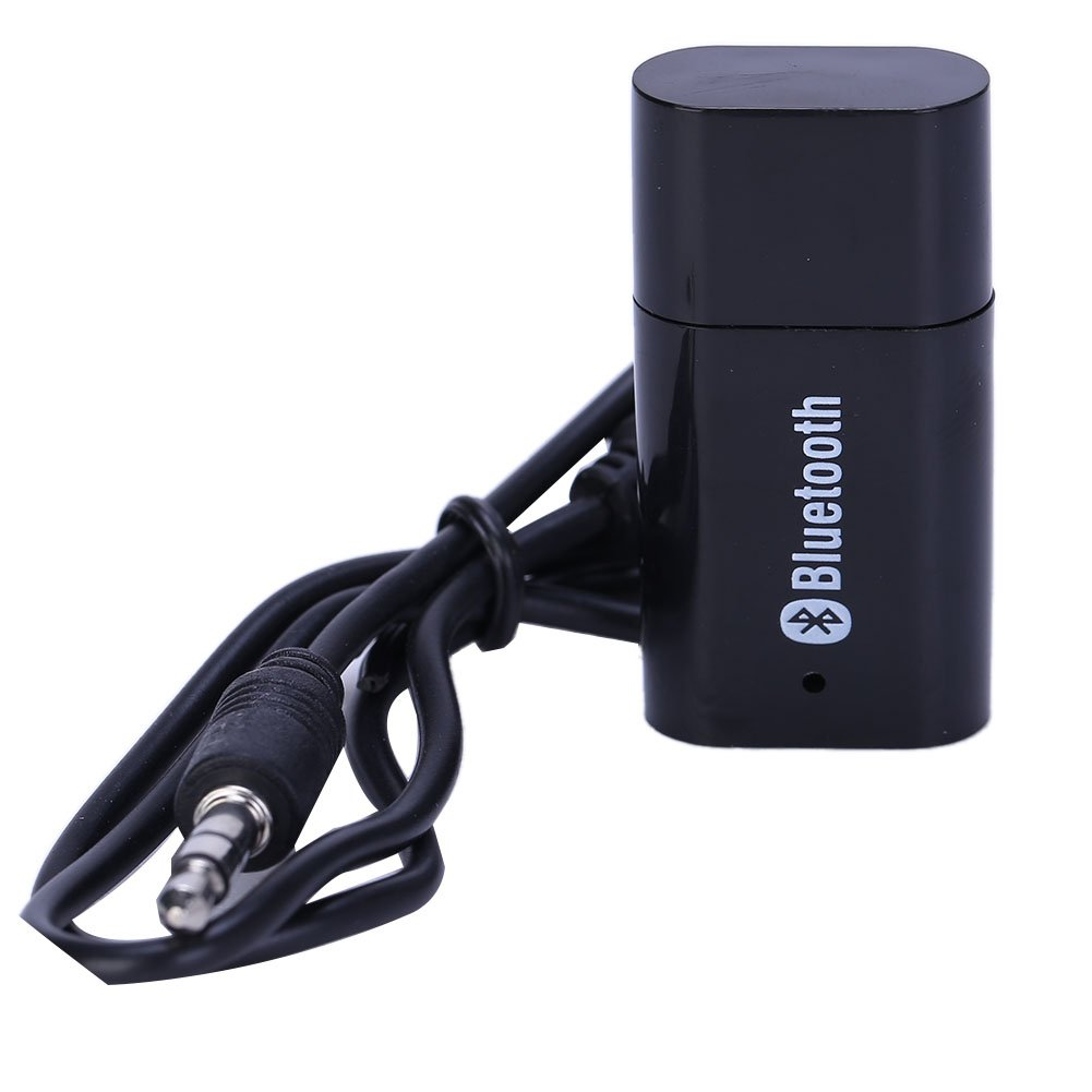 Coodio USB Bluetooth Music Audio Stereo Receiver Fit for Car AUX in Home Mp3 Speaker iPhone.
