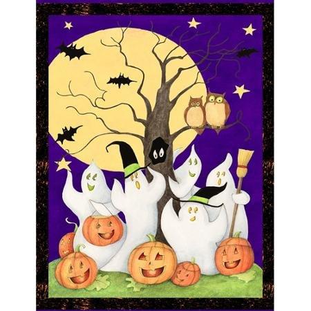 Halloween Ghost Story, Purple, 43/44